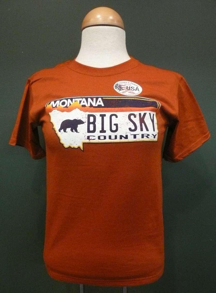Montana Plate Kid S T Shirt Leslie S Montana Shop